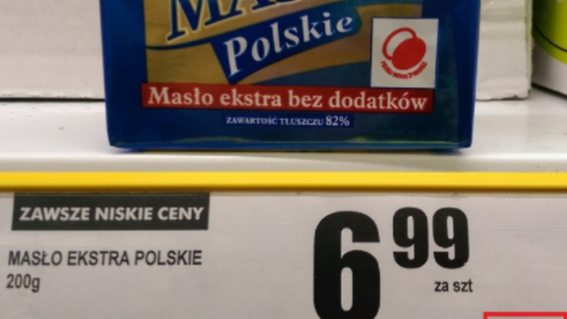 Absurdalne ceny masła! Internauta zrobił szokujące porównanie