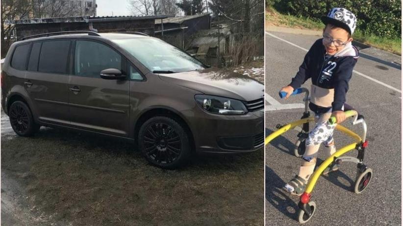 Skradziono auto ze sprzętem dla chorego dziecka