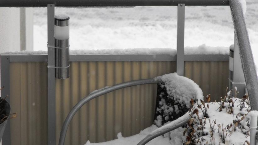 Masz balkon? Wykorzystaj mróz, aby pozbyć się roztoczy