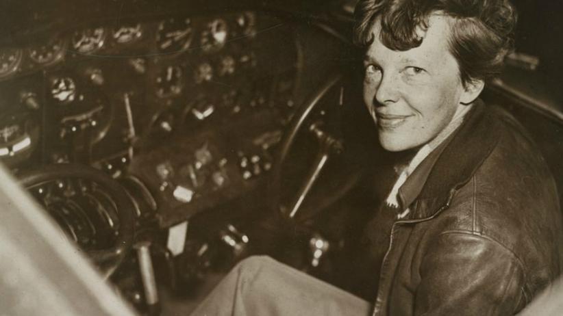 Mary Earhart słynna pilotka