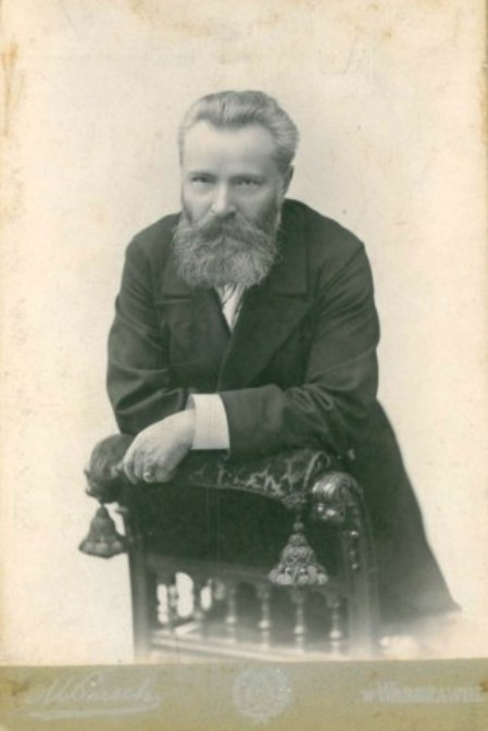01. Julian Ochorowicz. Zdjęcie ze zbioru Igora Strojeckiego