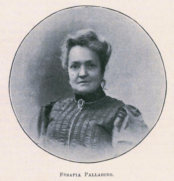 02. Medium Ochorowicza Eusapia Palladino w roku 1909. Zdjęcie ze zbioru Igora Strojeckiego.