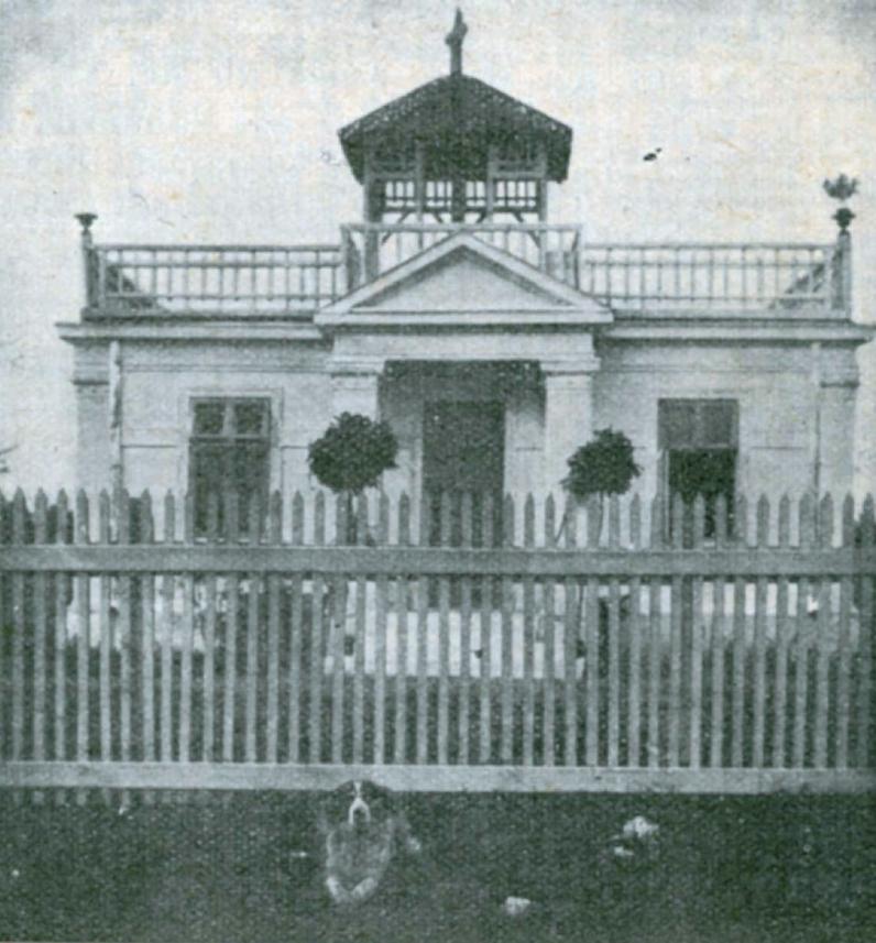 05. Taki domek Ochorowicz zbudował sobie w 1912 r. na Żeraniu, zanim przeprowadził się na Nowogrodzką.