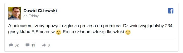 dawid czyzewski tweet
