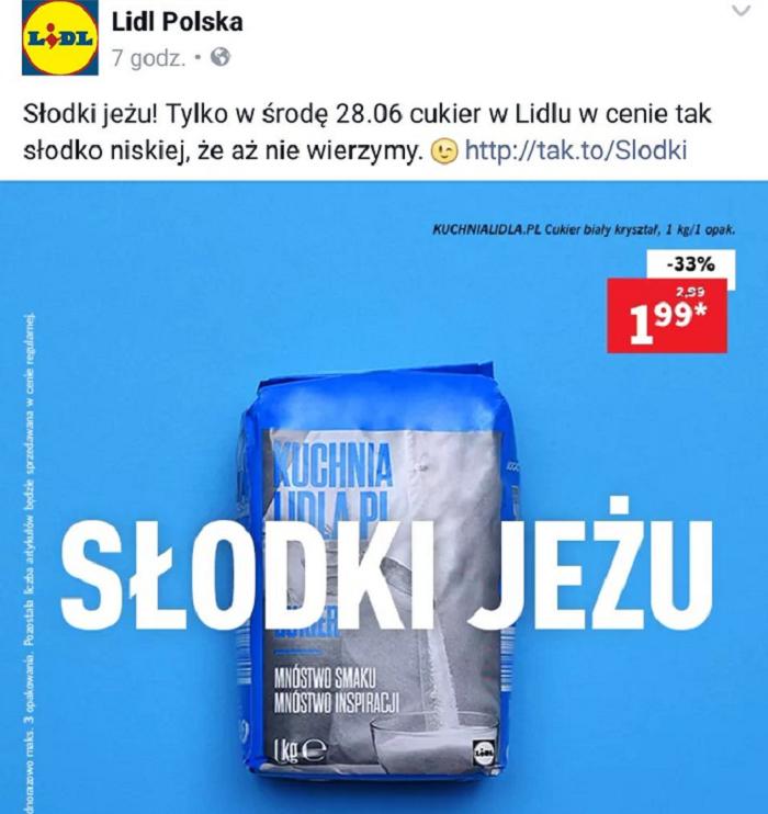 Lidl Kampania Słodki Jeżu Sklep Wycofuje Się Z Reklamy