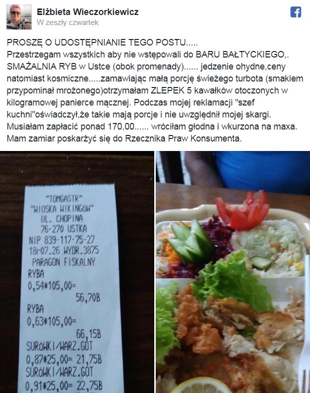Szokujące Ceny Ryby Nad Morzem Wiadomości