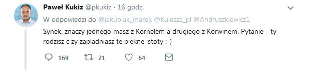 P.Kukiz Twitt2