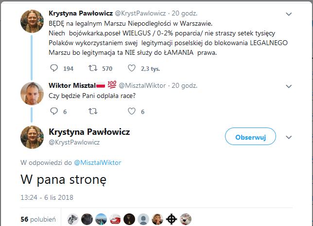 tweet pawlowicz