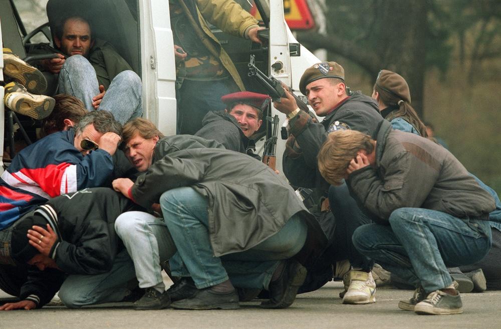Walki o Sarajewo w kwietniu 1992 roku