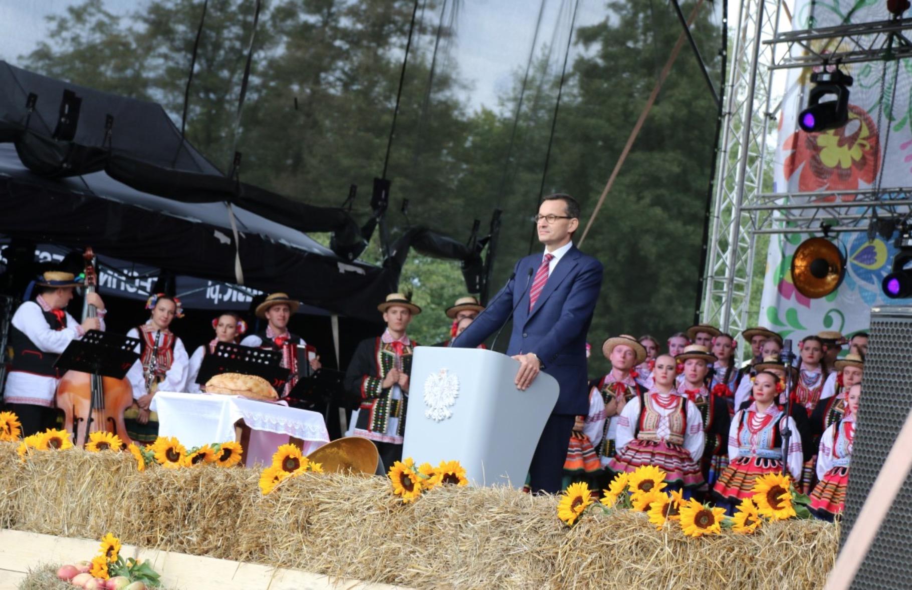 Święto Wdzięczni Polskiej Wsi w Wąwolnicy