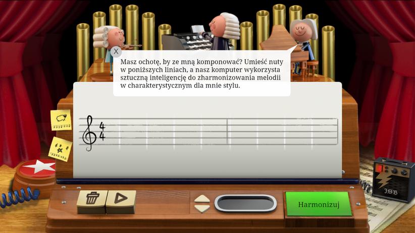 Muzyczne Google Doodle. Google uczciło 334 rocznicę urodzin Jana Sebastiana Bacha