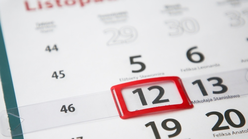 12 listopada. Dzień wolny od pracy. Prezydent podpisał ustawę