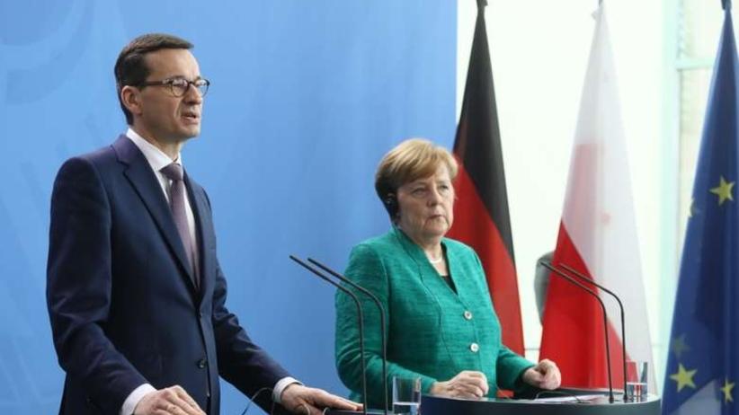 Morawiecki, Merkel