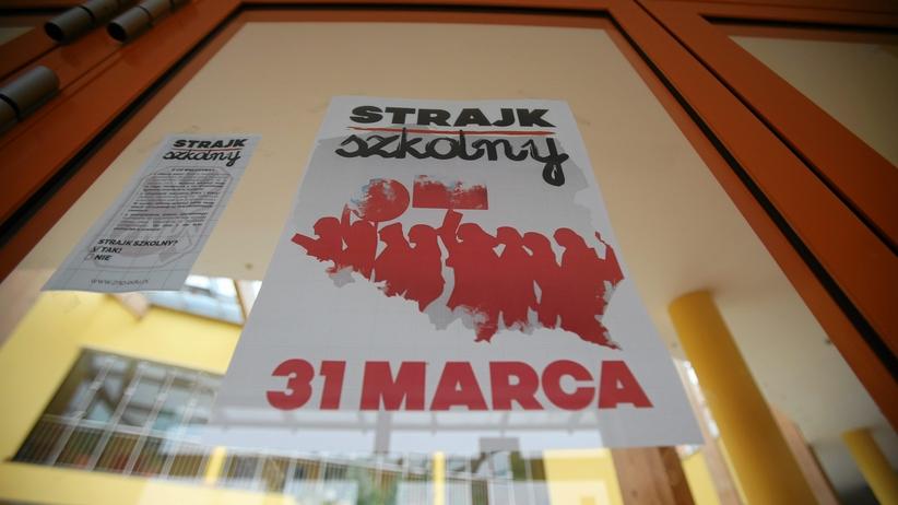 31 Marca Ogólnopolski Strajk Nauczycieli. Start O 7:30