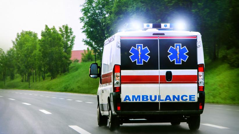 5 osób rannych w wypadku. Zablokowana DK nr 6