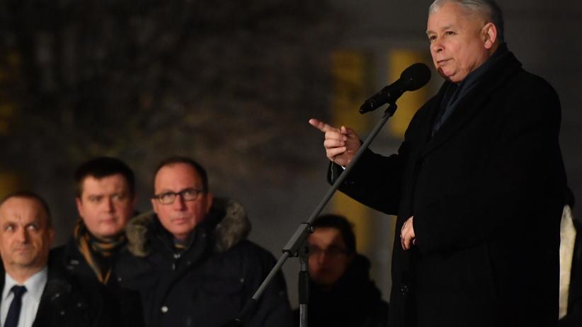Mocne przemówienie Kaczyńskiego: dziś diabeł podpowiada nam antysemityzm