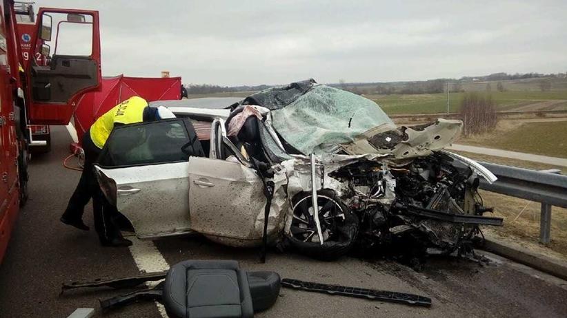 Tragiczny wypadek na A2. ZGINĄŁ 41-letni mężczyzna