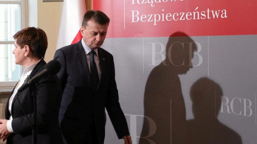 ABW inwigilowało Błaszczaka? TVP twierdzi, że ujawniło ciemne strony rządów PO-PSL