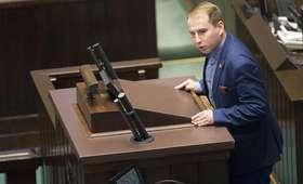 Andruszkiewicz odchodzi z klubu Kukiz '15: Nie możemy pozwolić, by wrócił Tusk i wszystko zniszczył