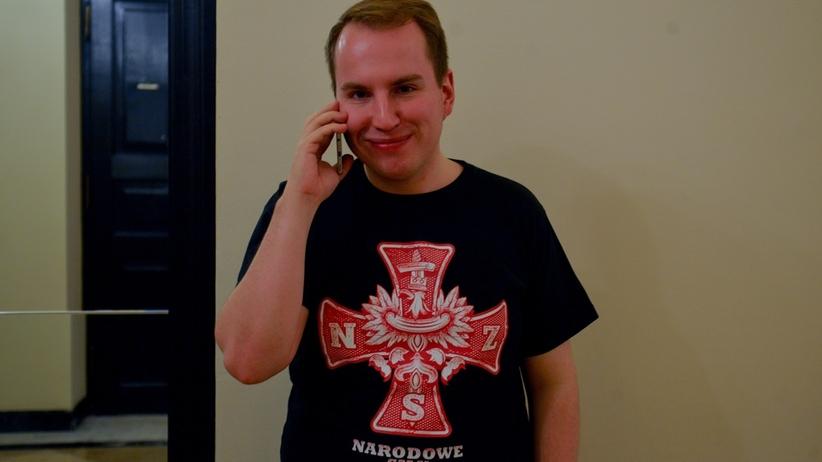 Były prezes Młodzieży Wszechpolskiej Adam Andruszkiewicz ma objąć funkcję wiceministra cyfryzacji