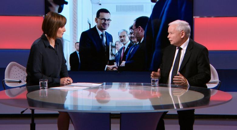Kaczyński o taśmach Morawieckiego. ''To są takie sobie pogawędki''. Po chwili: Nie mają znaczenia