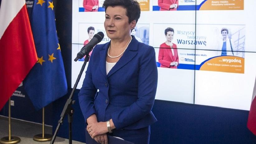 Bloger, którego informacje są podstawą doniesienia na prezydent Warszawy Hannę Gronkiewicz-Waltz, poszukiwany za stalking