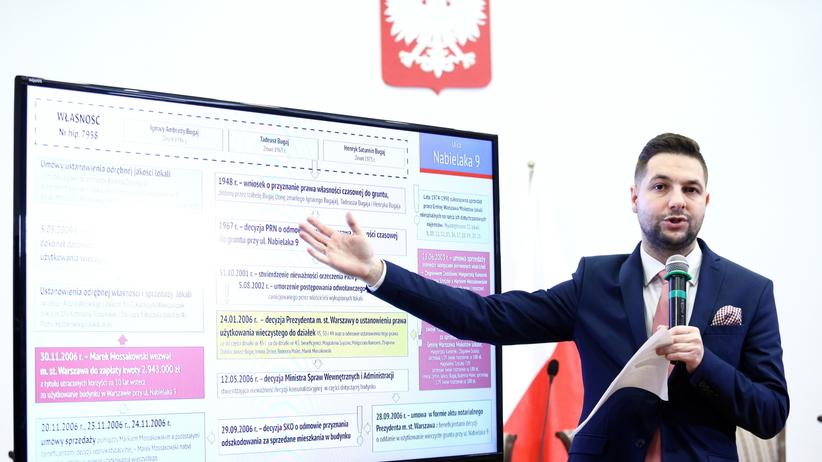 Afera reprywatyzacyjna: Komisja podjęła decyzję ws.kamienicy przy Nabielaka 9. Tam mieszkała Jolanta Brzeska
