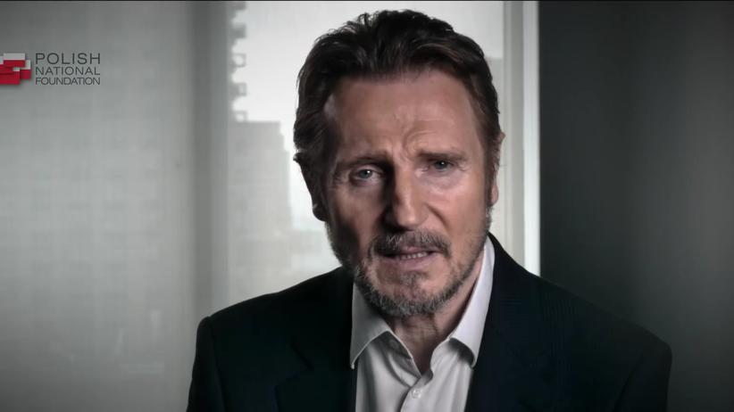 Aktor Liam Neeson wystąpił w spocie Polskiej Fundacji Narodowej