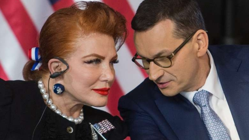 Nazwała Morawieckiego ''ministrem''. Teraz przeprasza: Jestem tym zażenowana