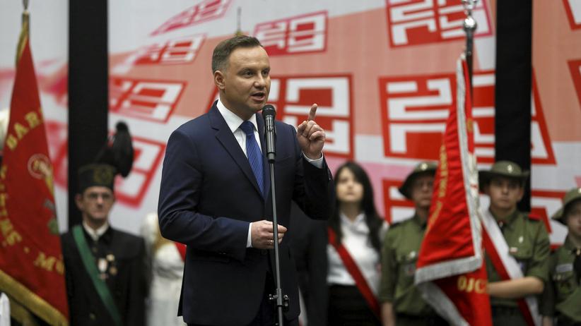 Andrzej Duda broni ustawy o IPN: nie zgodzę się, byśmy byli oczerniani