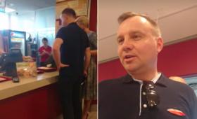 KFC komentuje wizytę Andrzeja Dudy