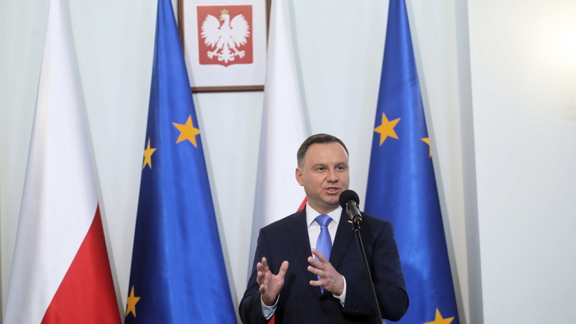 Andrzej Duda  wygłosi orędzie na Zamku Królewskim