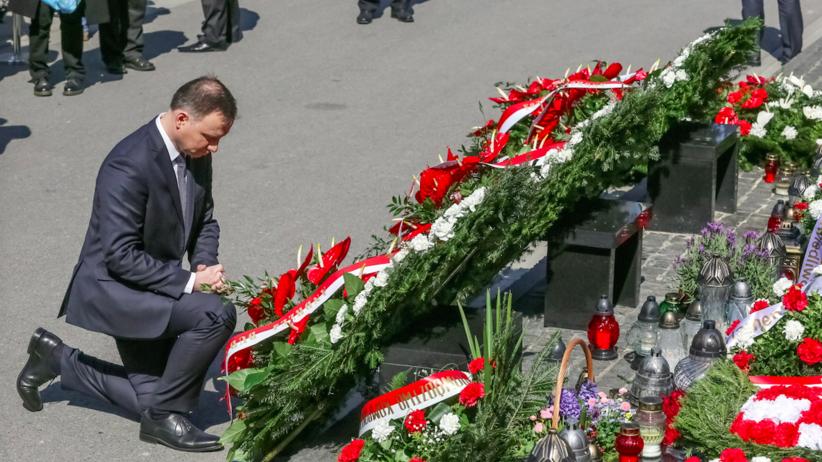 Andrzej Duda: Na Krakowskim Przedmieściu powinny stanąć dwa pomniki!