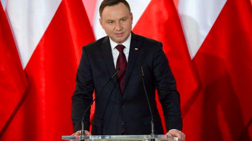 Andrzej Duda: powinniśmy prowadzić twardą, zdecydowaną politykę historyczną