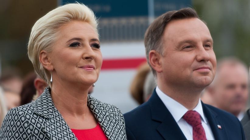 Andrzej Duda. Prezydent odpowiada na plotki o kryzysie z żoną