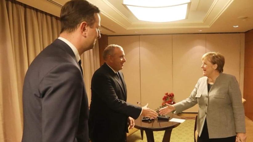 Angela Merkel spotkała się z liderami PO i PSL