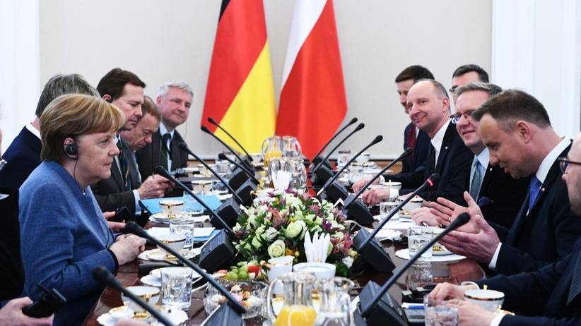 Duda do Merkel: Ta wizyta pokazuje, że kontakty polsko-niemieckie są bardzo dobre