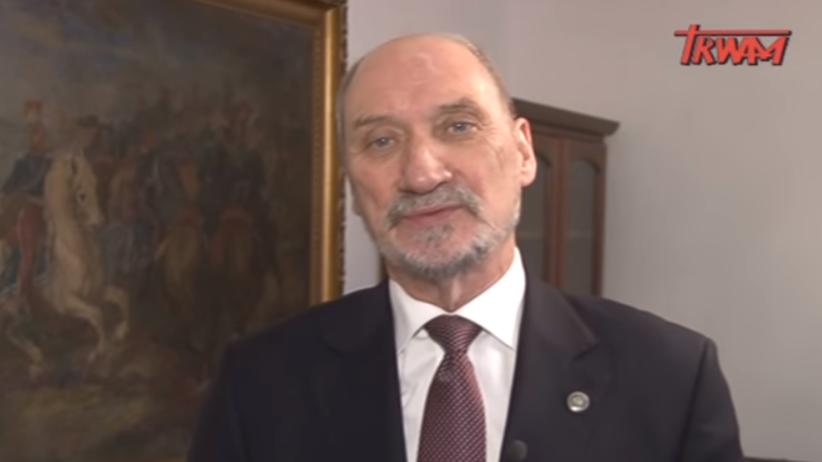 Macierewicz w TV Trwam. Mówi o... Smoleńsku, zbrodni i wskazaniu odpowiedzialnych