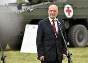 Macierewicz dostał honorową odznakę GROM