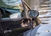 Audi wpadło do rzeki. Ciężarna kobieta wołała o pomoc na dachu