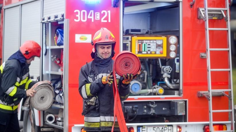 Poważna awaria gazociągu. Na miejscu straż pożarna