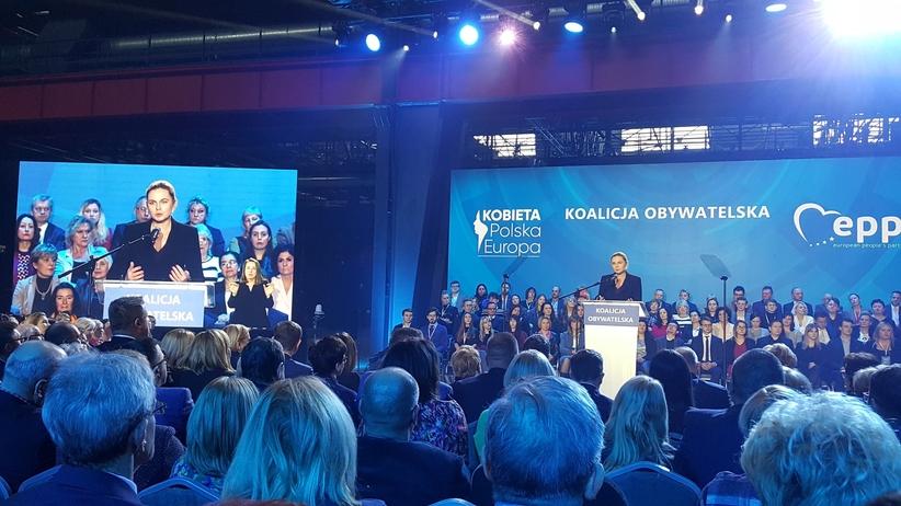 Nowacka na konwencji KO: My, Polki, chcemy być bezpieczne w domu i w pracy