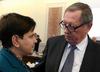 Tajemnicza rozmowa Beaty Szydło z Janem Szyszką. Wskazówka co do zmiany premiera? [WIDEO]