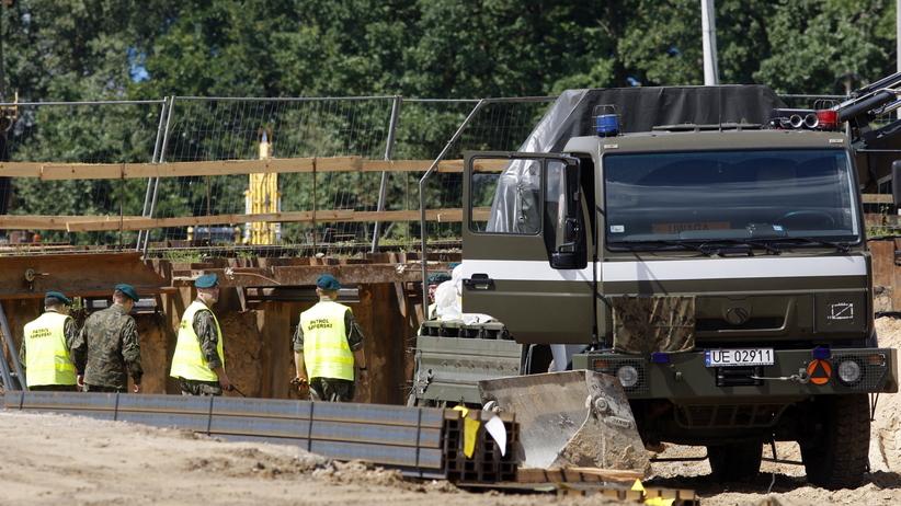 Białystok. Kolejny niewybuch znaleziony przy przebudowie drogi