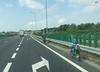 Bielsko-Biała. Ojciec jechał rowerem z synem po drodze ekspresowej
