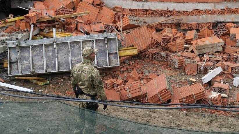Bielsko-Biała. Wybuch powodem zawalenia budynku mieszkalnego
