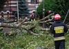 Tysiące osób bez prądu, motocyklistę przygniotło drzewo. Bilans nawałnic