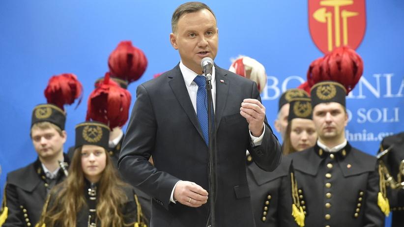 Andrzej Duda w Bochni