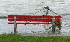 Stan alarmowy na rzece Drwęca. Służby w gotowości