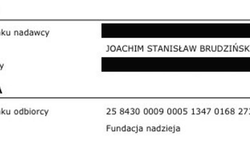 """Brudziński przelewa pieniądze na ofiary wypadków drogowych i przeprasza """"zawiedzionych"""""""